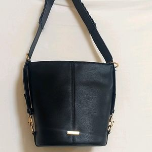 Rachel Zoe Vegan Crossbody Shoulder Bucket Bag